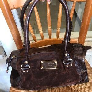 Kate spade ♠️ Brown suede purse